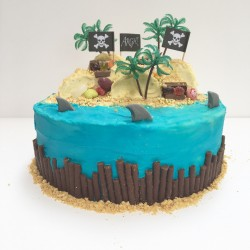 treasure island cake kit