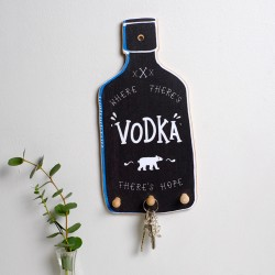 Vodka Bottle Key Holder