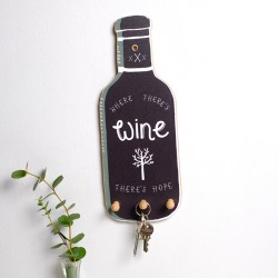 Wine Bottle Key Holder