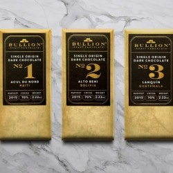 Award-Winning Single Origin Bean-to-Bar Chocolate Gift Box