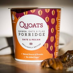 Quoats Porridge - Date & Pecan (12 pack)