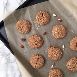 Almond Crunch Cookie Bites (Vegan)