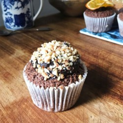 Chocolate Hazelnut Hidden Centre Cupcakes (Free From)