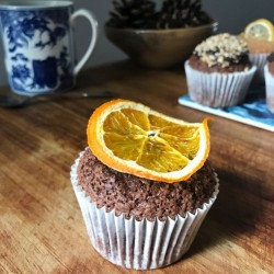 Chocolate Orange Hidden Centre Cupcakes (Free From)