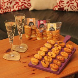 B-Tmepted Prosecco Lover gluten free selection pack of cakes