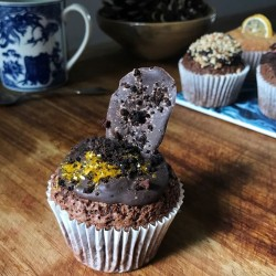 Triple Chocolate Hidden Centre Cupcakes (Free From)