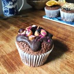 Blackforest Gateaux Hidden Centre Cupcakes (Free From)