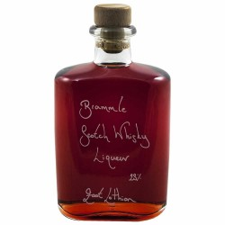 Hipflask of Bramble Scotch Whisky Liqueur (Personalisation available)