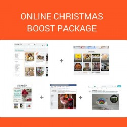Online Christmas Boost Package