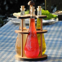 Connoisseurs Carousel - Finest Vinegar & Olive Oil Set