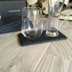 Double Slate Coasters (Personalisation Available)