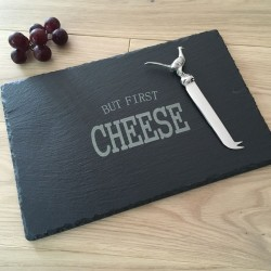 Large Rectangular Slate Cheeseboard (Personalisation Available)