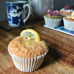 Lemon Drizzle Cupcakes (Free From)