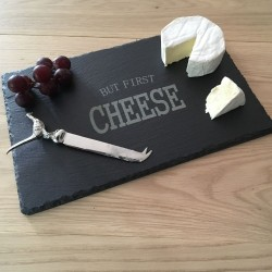 Medium Rectangle Slate Cheeseboard (Personalisation Available)