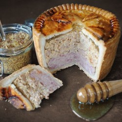 Yorkshire Farmer's Cutting Pork Pie