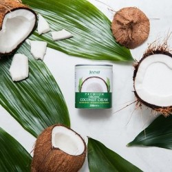 Premium Organic Coconut Cream (4 pack)