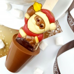 Santa Hot Chocolate Spoons