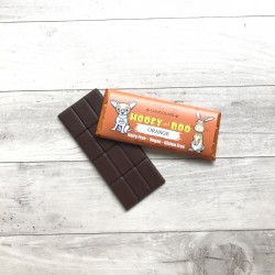 Trio of Hooey and Boo Dairy Free Childrens Chocolate Bars - Orange
