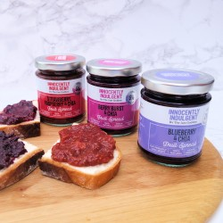 Trio of Jam Goddess Flavours (Free from refined sugar)