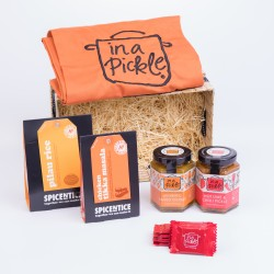 Curry Lovers Wicker Hamper Tikka Massala