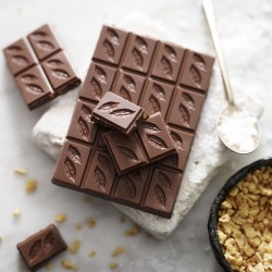 Honeycomb & Sea Salt Milk Chocolate 41% (3 bars)