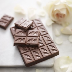 3 Bars of Moroccan Rose Milk Chocolate 41%