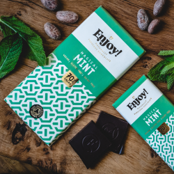 Mint Raw Organic Chocolate Bars (5 bars)