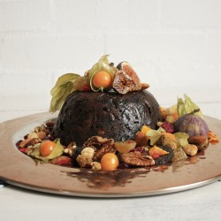Vegan + Gluten Free Christmas Pudding