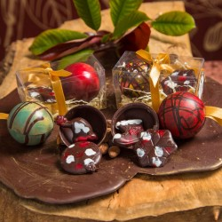 Chocolate Christmas Baubles