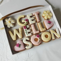 Get Well Soon Cookie Gift Box (For Her)