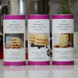 Indulgent Alcoholic Shortbread Selection