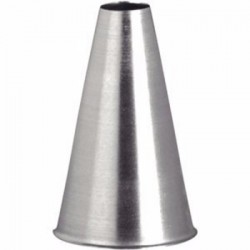 Reusable Stainless Steel Plain Tip Nozzle