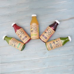 Fresh Raw Cold Pressed Juice Flavour Selection