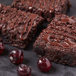 Vegan Gluten-free Cherry Brownie Box