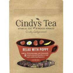 08 Relax with Poppy Herbal Tea