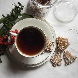Christmas Gingerbread Bites - Biscuit Jar and Tea Gift set
