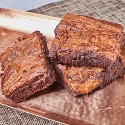 Gluten-Free Dulce de Leche Brownie