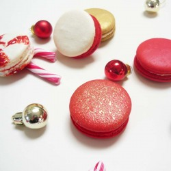 Christmas Macarons Box of 5