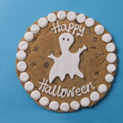 Halloween Ghost Chocolate Chip Cookie Card