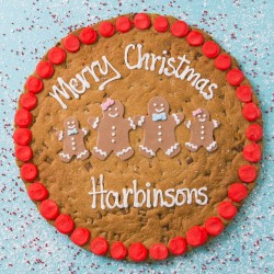 "12"" Family Christmas Cookie Card"