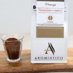 Premium Artisan Ground Coffee Hand Roasted And Matured In Italy Firenze - Decaf
