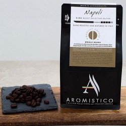 Premium Artisan Hand Roasted Coffee Beans Matured In Italy Roma Blend