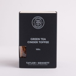 Green Tea Cinder Toffee
