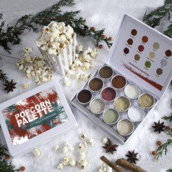 Personalised Make Your Own Christmas Popcorn Kit