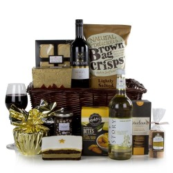 Season's Greetings Basket - Christmas Hamper