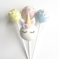 Gluten Free Unicorn Party Cake Pops