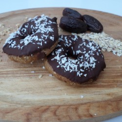 Coconut Pronuts - Healthy Raw Donuts