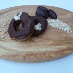Almond Pronuts - Healthy Raw Donuts