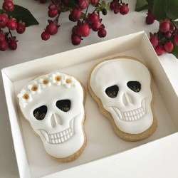 Wedding / Anniversary Day of the Dead Cookies