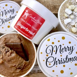 Christmas Edible Cookie Dough 4 Pack
